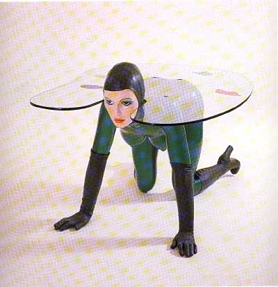 Allen jones pop art - inspiracion volatil blog